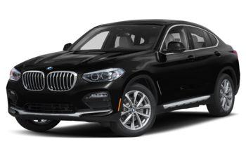 2020 BMW X4 - Black Sapphire Metallic