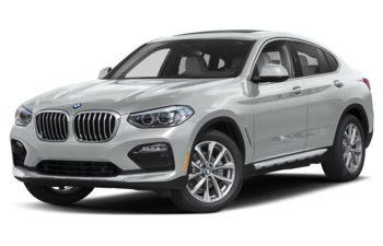 2020 BMW X4 - Glacier Silver Metallic