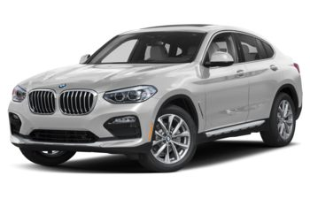 2021 BMW X4 - Mineral White Metallic
