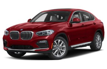 2019 BMW X4 - Flamenco Red Metallic