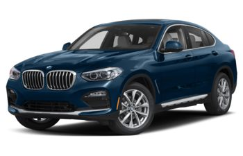 2021 BMW X4 - Phytonic Blue Metallic