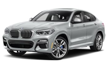 2019 BMW X4 - Glacier Silver Metallic