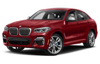 2019 BMW X4 - Flamenco Red Metallic
