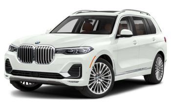 2019 BMW X7 - Alpine White Non-Metallic