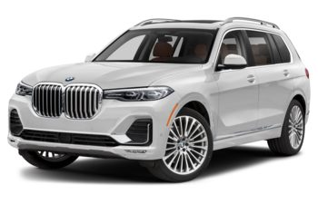 2020 BMW X7 - Mineral White Metallic