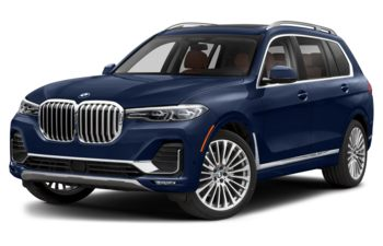 2021 BMW X7 - Tanzanite Blue Metallic