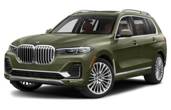 2021 BMW X7 - Urban Green