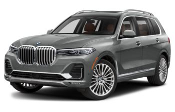 2021 BMW X7 - Lime Rock Grey