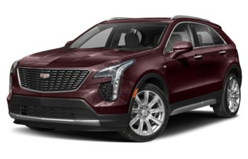 2021 Cadillac XT4 - Garnet Metallic