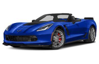 2019 Chevrolet Corvette - Elkhart Lake Blue Metallic