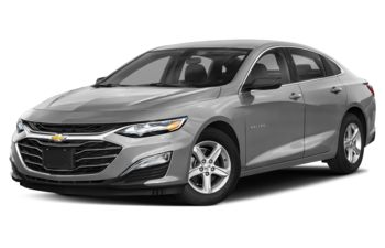 2020 Chevrolet Malibu - Silver Ice Metallic