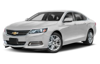 2019 Chevrolet Impala - Summit White