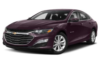 2020 Chevrolet Malibu Hybrid - Black Cherry Metallic
