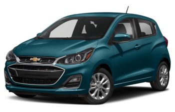 2020 Chevrolet Spark - Caribbean Blue Metallic