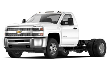 2019 Chevrolet Silverado 3500HD Chassis - Summit White