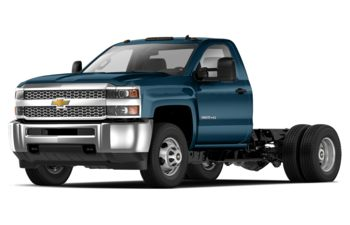 2019 Chevrolet Silverado 3500HD Chassis - Deep Ocean Blue Metallic