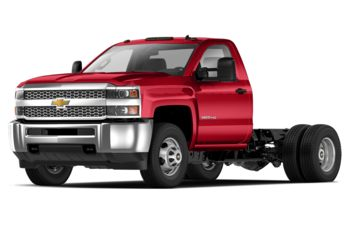 2019 Chevrolet Silverado 3500HD Chassis - Red Hot