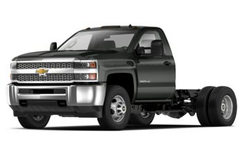 2019 Chevrolet Silverado 3500HD Chassis - Graphite Metallic