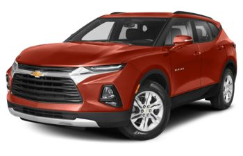 2021 Chevrolet Blazer - Cayenne Orange Metallic