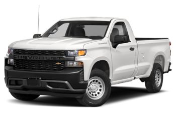 2021 Chevrolet Silverado 1500 - Summit White