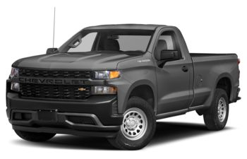 2020 Chevrolet Silverado 1500 - Satin Steel Metallic