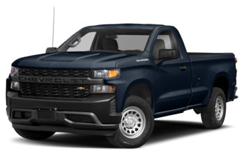 2021 Chevrolet Silverado 1500 - Northsky Blue Metallic