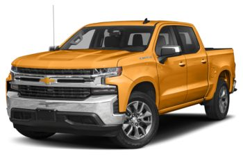 2019 Chevrolet Silverado 1500 - Wheatland Yellow