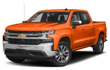 2020 Chevrolet Silverado 1500 - Tangier Orange