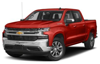 2021 Chevrolet Silverado 1500 - Red Hot
