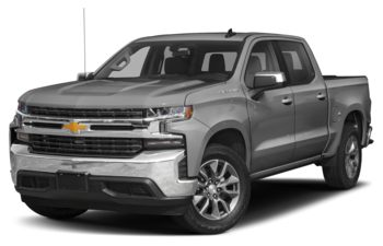 2019 Chevrolet Silverado 1500 - Satin Steel Metallic