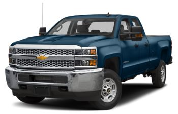 2019 Chevrolet Silverado 2500HD - Deep Ocean Blue Metallic