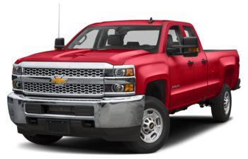 2019 Chevrolet Silverado 2500HD - Red Hot