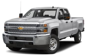 2019 Chevrolet Silverado 2500HD - Silver Ice Metallic