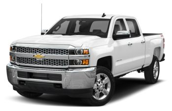 2019 Chevrolet Silverado 2500HD - Summit White