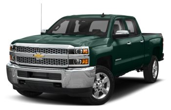 2019 Chevrolet Silverado 3500HD - Woodland Green