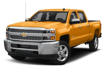2019 Chevrolet Silverado 2500HD - Wheatland Yellow