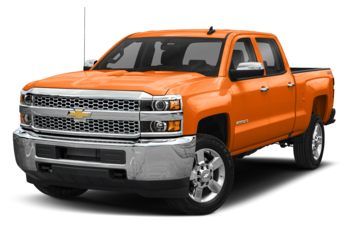2019 Chevrolet Silverado 2500HD - Tangier Orange