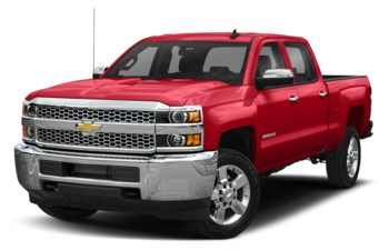 2019 Chevrolet Silverado 3500HD - Red Hot