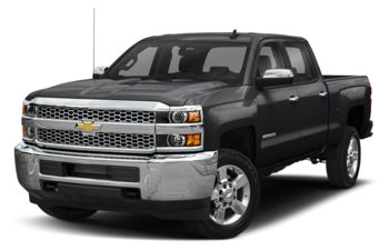 2019 Chevrolet Silverado 3500HD - Mosaic Black Metallic