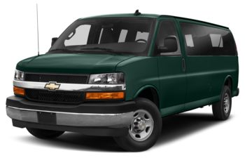 2019 Chevrolet Express 3500 - Woodland Green