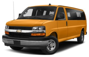 2019 Chevrolet Express 3500 - Wheatland Yellow