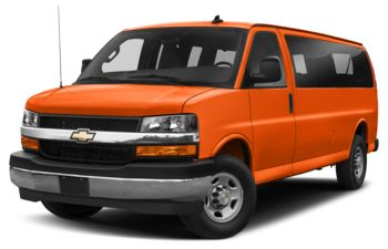 2019 Chevrolet Express 3500 - Tangier Orange
