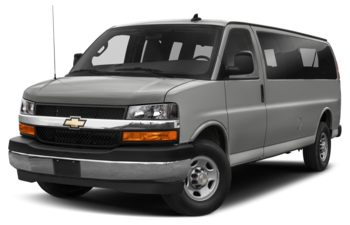2021 Chevrolet Express 3500 - Silver Ice Metallic