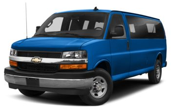 2020 Chevrolet Express 2500 - Kinetic Blue Metallic
