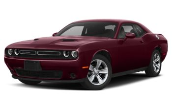 2019 Dodge Challenger - Octane Red Pearl