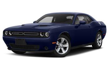2021 Dodge Challenger - Indigo Blue