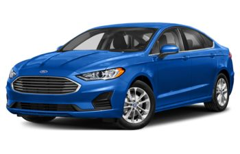 2019 Ford Fusion - Velocity Blue Metallic