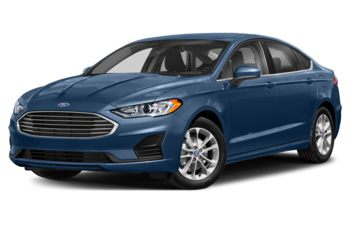 2019 Ford Fusion - Metallic Blue