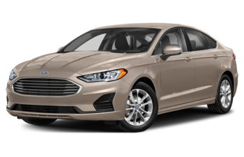 2019 Ford Fusion - White Gold Metallic