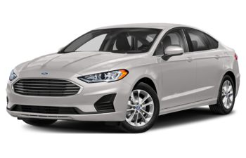 2019 Ford Fusion - White Platinum Metallic Tri-Coat